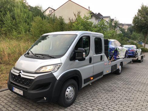 Abschleppwagen Mieten Km Frei Autotransporter Fahrzeugtransporter