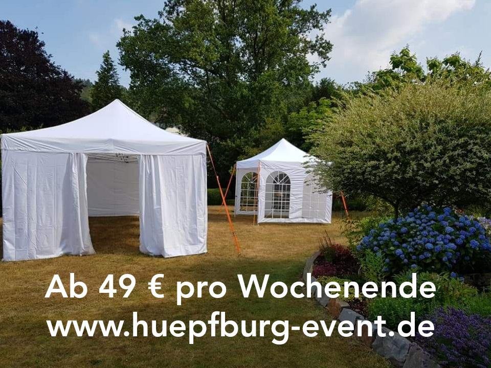 Partyzelte, Event Zelte, Pavillon Zelte mieten ab 49 Euro