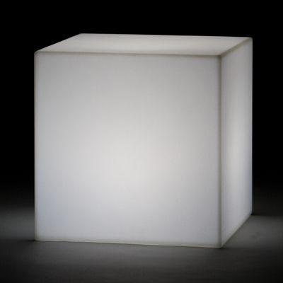 Sitzwürfel \'JUMBO\' weiß, Cubo beleuchtet, Loungemöbel - 3362050153 ...