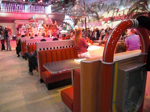american Diner, Dinermöbel, Dinerbänke, Stühle, Tische ...