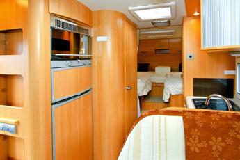 Ausstattung vom Wohnwagen