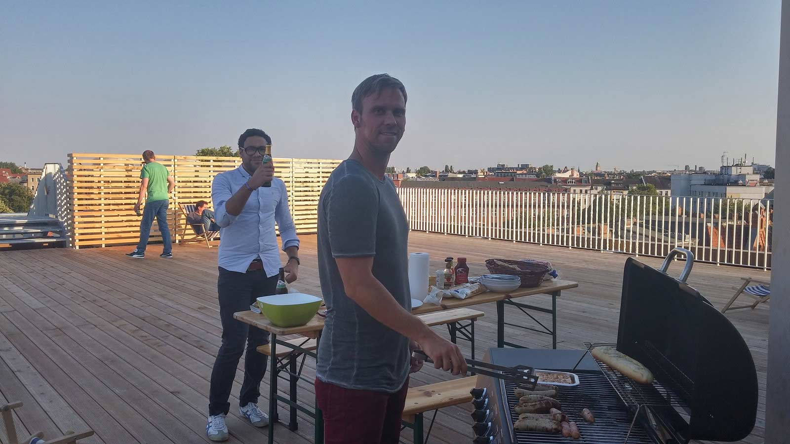 Barbeque at Erento