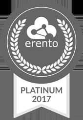 Erento Platinum Siegel