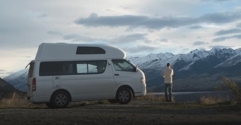 Mit dem Campervan unterwegs