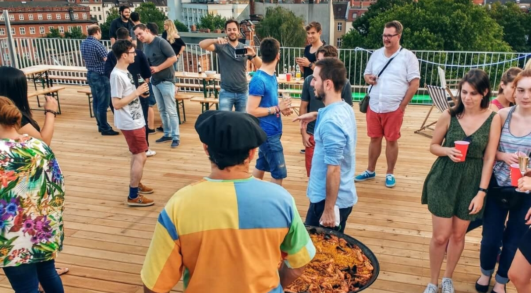 Rooftop Party at Erento