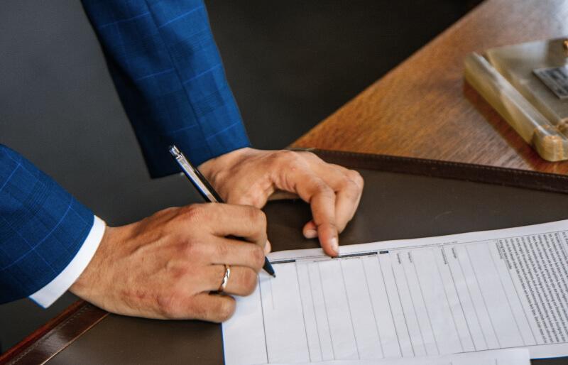Gewerbeanmeldung - notarielle Unterschrift